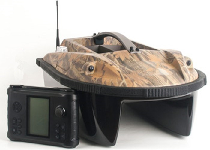 Camouflage Color Eagle Finder Wireless Remote Control Bait Boats, High Speed Fishing Boat RYH-001A